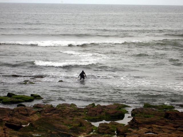 Teshie beach