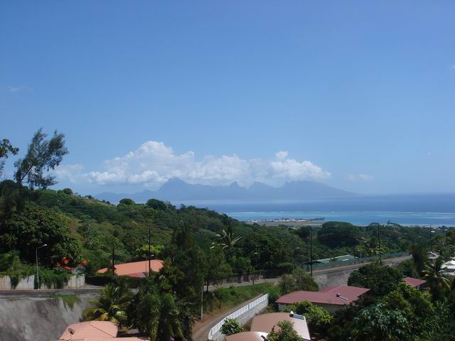 View from Tahiti