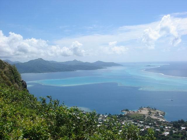 Tahaa island