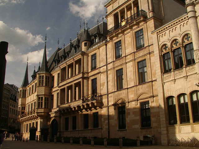 Categorie Luxembourg Palais grand-ducal