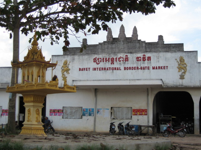 Bavet International border-gate market