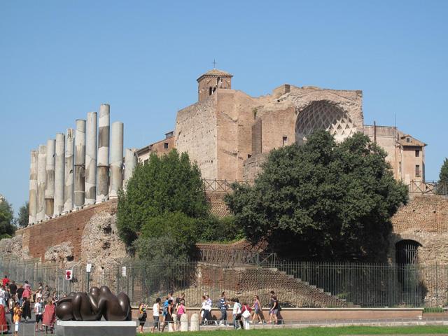 Templum Veneris et Romae