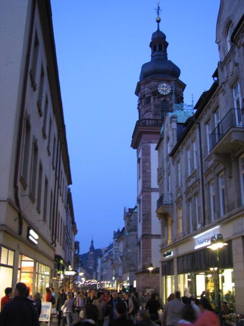Am Abend in Heidelberg