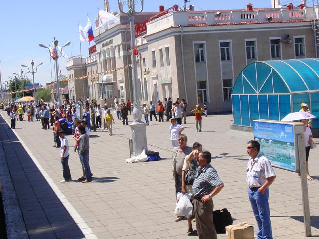 Gare d'Ulaanbaatar