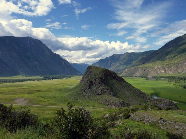 Montagnes Altaï