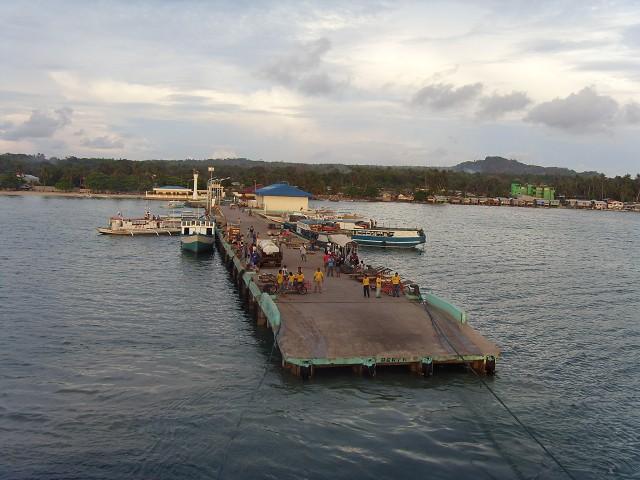 Cuyo wharf