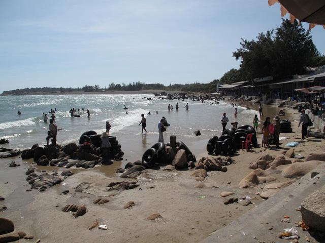Tuy Phong beach