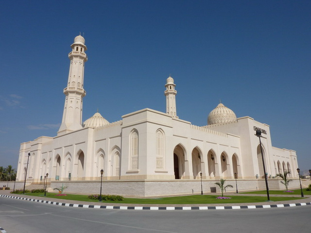 Sultan Qaboos Mosque in Salalah, province of Dhofar, Oman