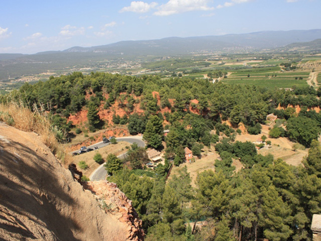 Ochres valley