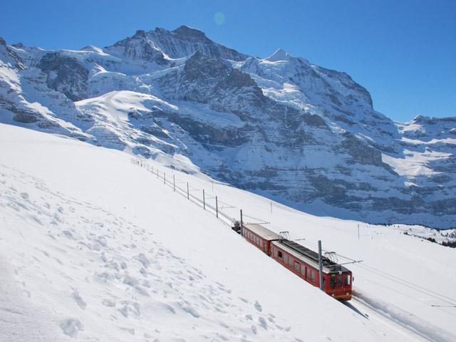 Alpes suisses Jungfrau-Aletsch