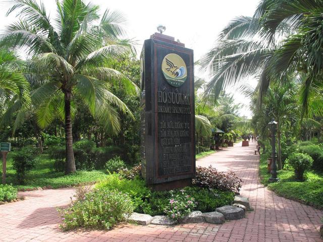Yard, Binh Chau Hot Spring