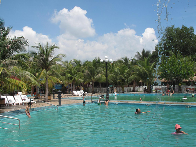 Hot Water Baths, Binh Chau Hot Spring