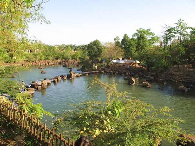 Bamboo stream