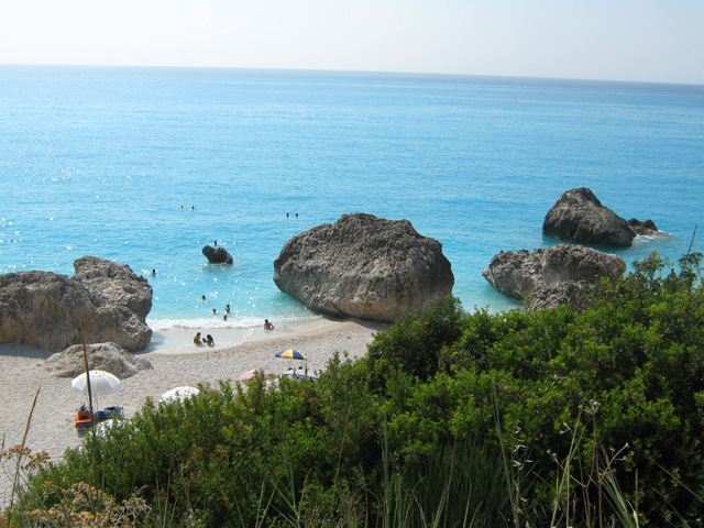 Leucas beach