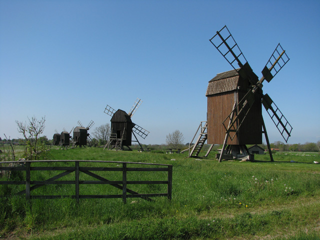 Old windmills