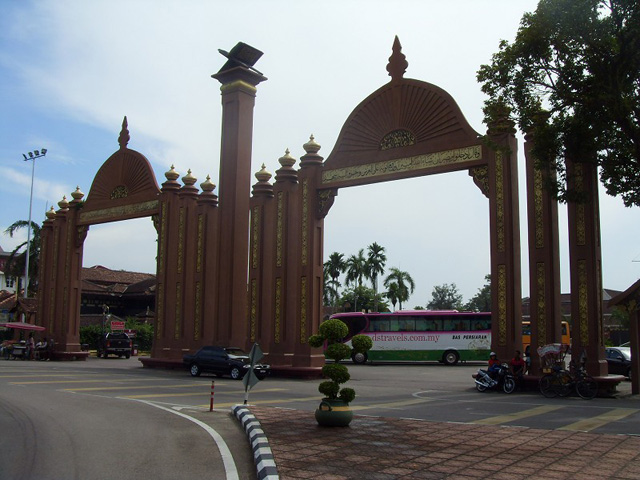 Sultan Ismail Petra Arch