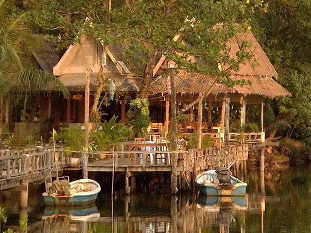 Restaurant on the Blue Lagoon
