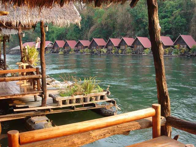 Saiyok View Raft Hotel