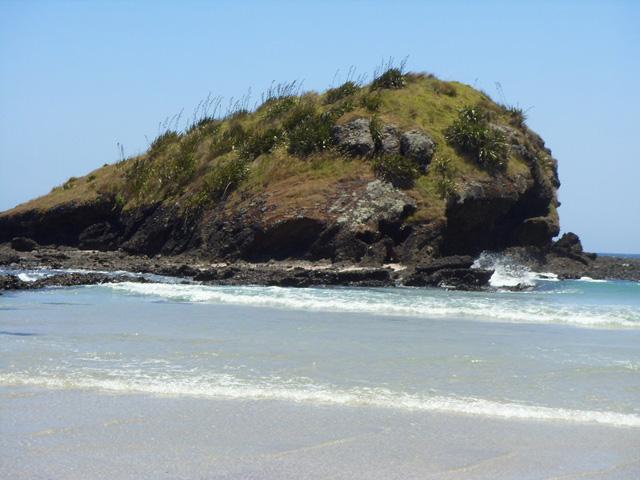 Spirits Bay cliff
