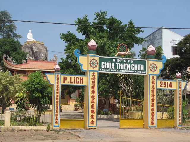 Gate, Thien Chon Pagoda