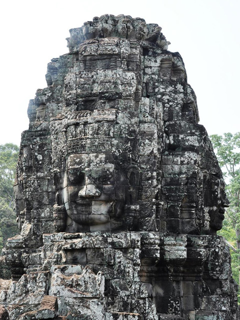 4-Faces Tower, Bayon