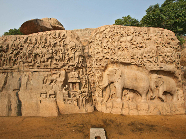 Category Mahabalipuram Descent of the Ganges