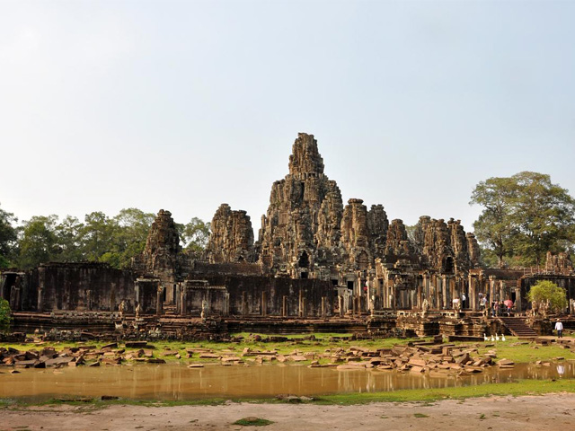 West side, Bayon, Angkor Thom