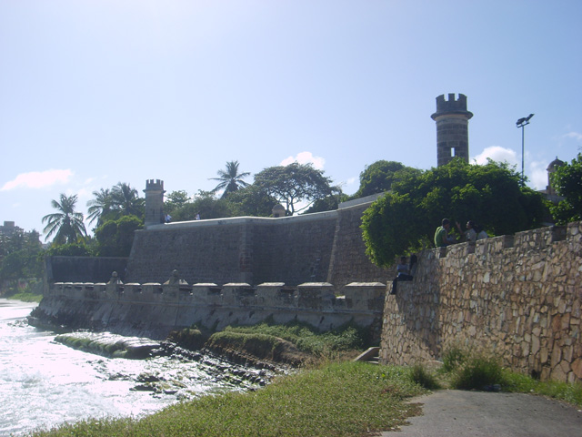 Colonial fortress