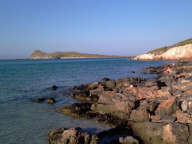 Elunda peninsula