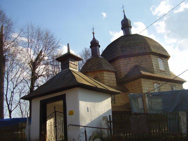 Hrebenne church