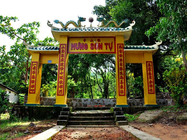 Gate, Hung Son Pagoda
