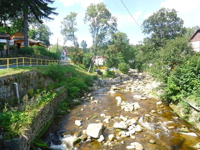 Kamienna river
