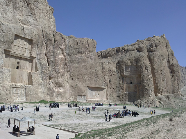 Achaemenid tombs