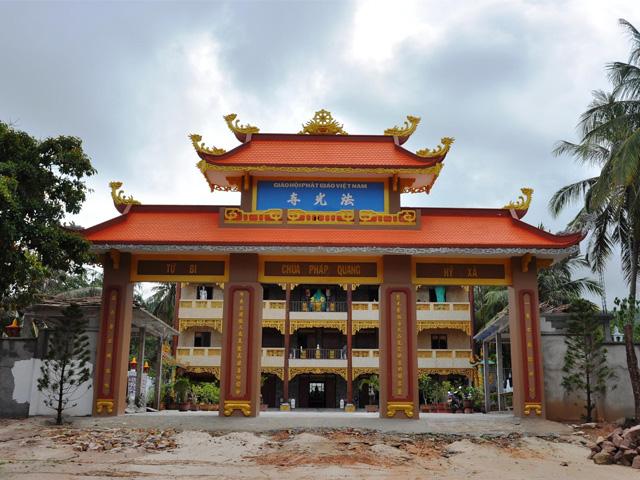 Gate, Phap Quang Pagoda