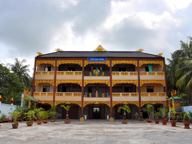 Main building, Phap Quang Pagoda