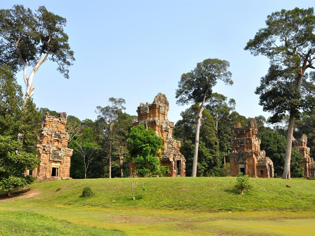 Prasat Towers, Angkor Thom