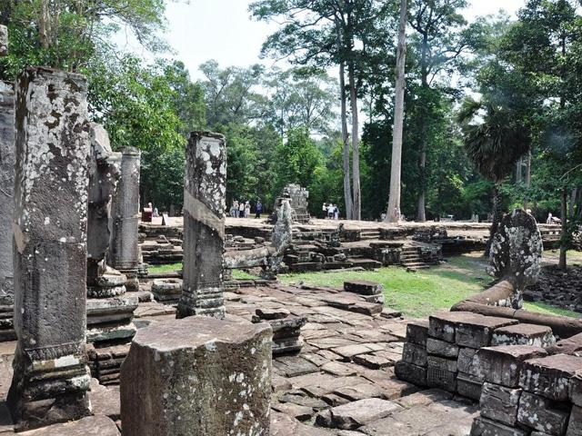 Ruins, Angkor Thom