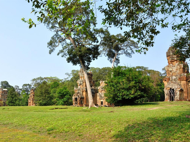 Sour Prat Towers, Angkor Thom