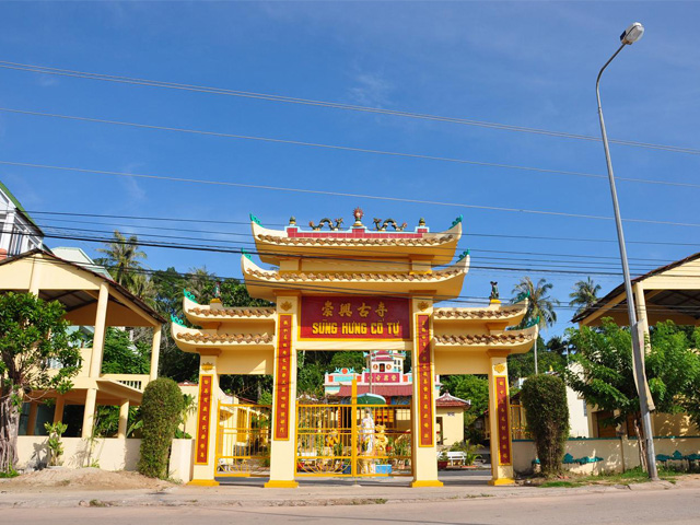Gate, Sung Hung Pagoda