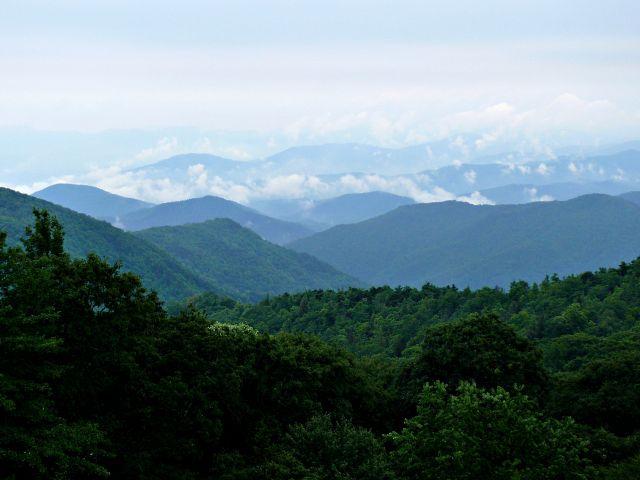 Montagnes Blue Ridge