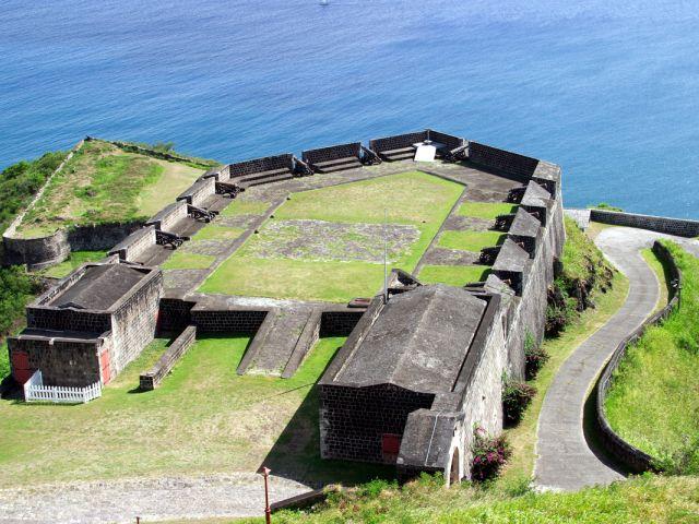 Parc national de la forteresse de Brimstone Hill