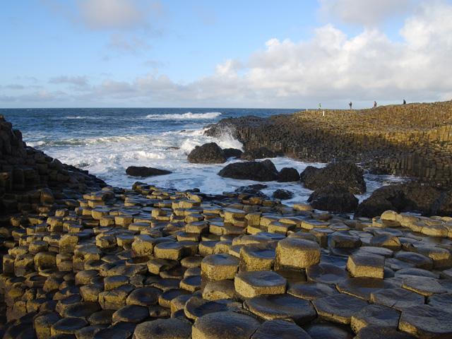 Hexagonal basalts