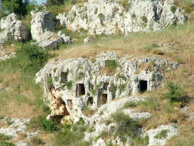 Nécropole de Pantalica