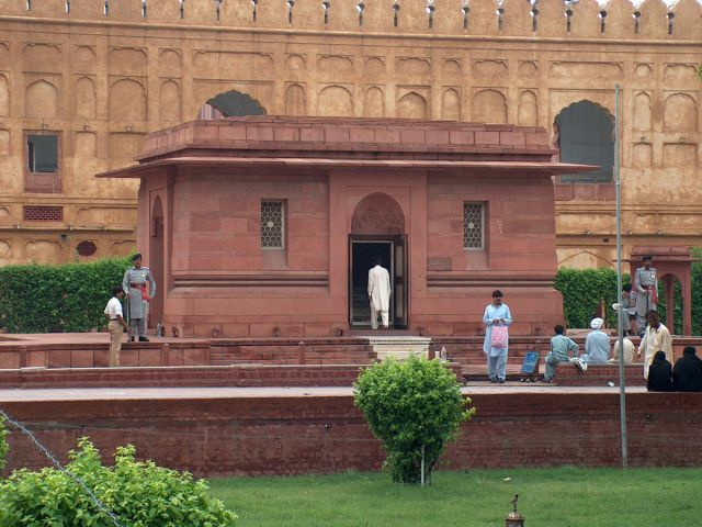 Tombe de Muhammad Iqbal