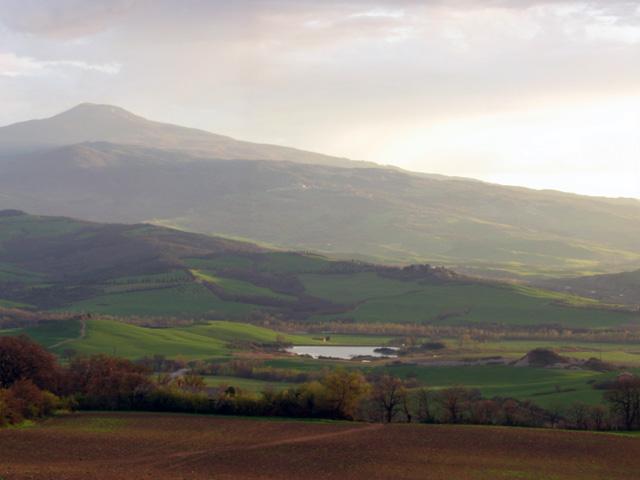 Vallée de l'Orcia