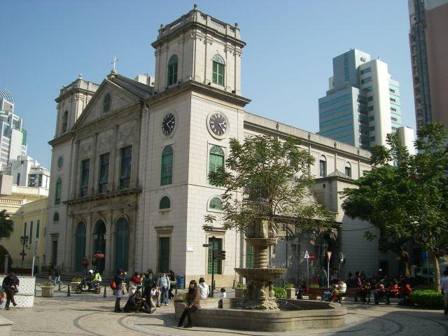 Cathédrale de la nativité de Macao
