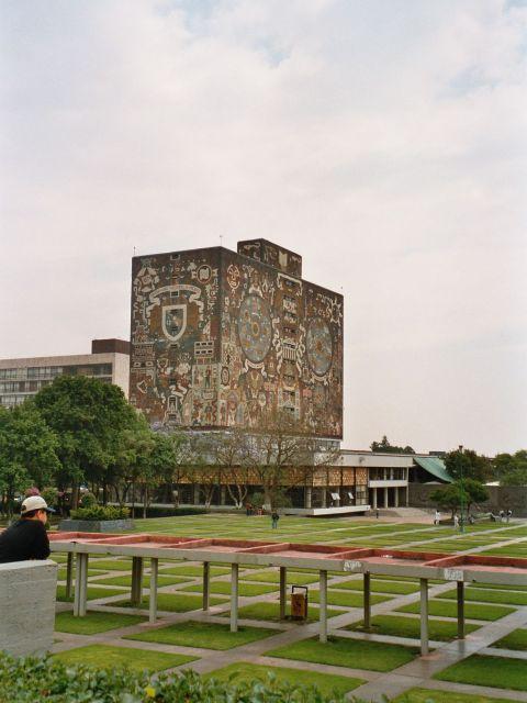 Campus central de la cité universitaire de l'Universidad Nacional Autonoma de Mexico (UNAM)