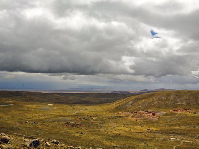 Vallée de Chacaltaya