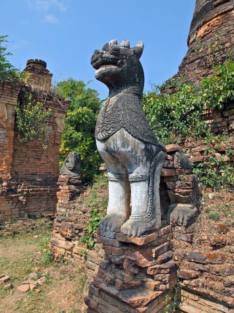 Chinthe Statue