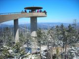Observation tower, Great Smoky Mountains National Park
